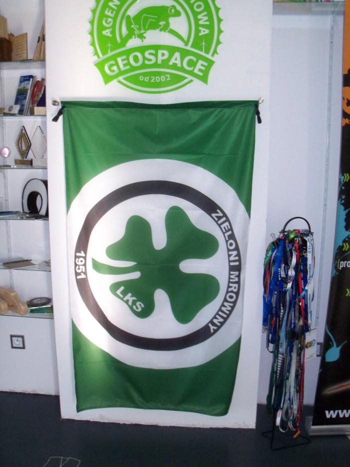 Flaga dla Zielonych Mrowiny